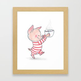 hotcoco piggy Framed Art Print