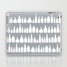 Bottles Grey Laptop & iPad Skin