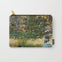 Stone Statue Carry-All Pouch