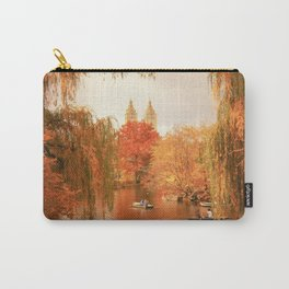 Central Park New York City Autumn Carry-All Pouch