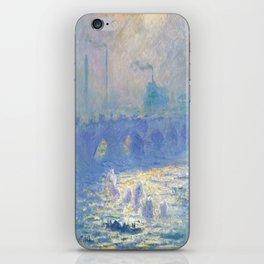 Claude Monet's Waterloo Bridge iPhone Skin