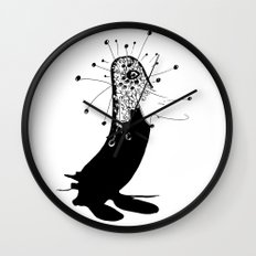 magic penguin Wall Clock