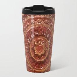 Sun Mandala Tattoo Travel Mug