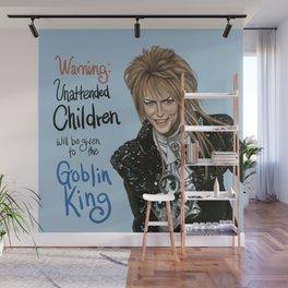 Goblin King Jareth Wall Mural