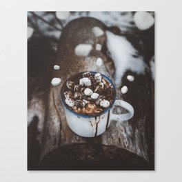 Marshmallow Deluxe Canvas Print