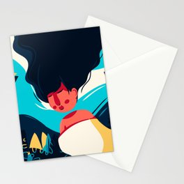 Women Dreaming Stationery Cards
