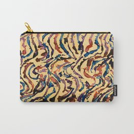Tribal Waves Carry-All Pouch