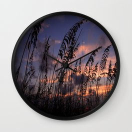 Dusk in Venice Wall Clock