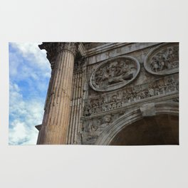 Arch Of Constantine, View 1 Rug