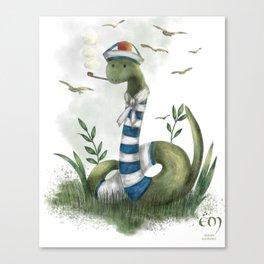 the marin snake Canvas Print