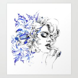 Lilly Art Print