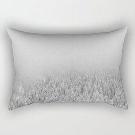 Snowy Day Rectangular Pillow