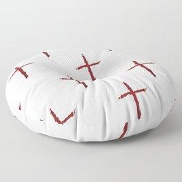 Rugged Cross Floor Pillow