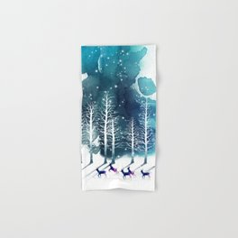 Winter Night 2 Hand & Bath Towel