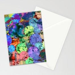 autumn leaf jungle II Stationery Cards