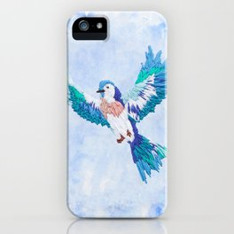Hoopless: Fly Away iPhone Case