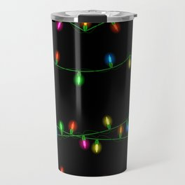 Christmas lights collection Travel Mug