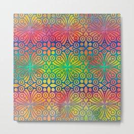 DP050-3 Colorful Moroccan pattern Metal Print