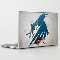 infamous Laptop & iPad Skins featuring inFamous Second Son Good Karma by Kyrsten Carlson