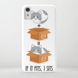 If It Fits, I Sits! iPhone Case