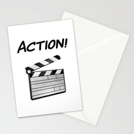 Action! Stationery Cards