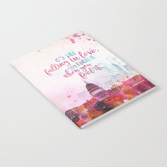 The Lovely Reckless - Like Falling in Love Notebook