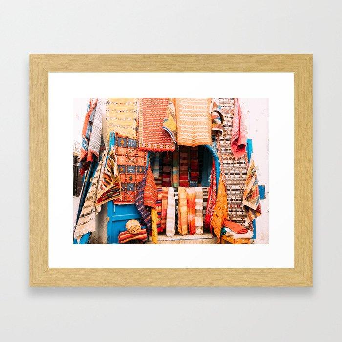 RIOT OF COLOUR Framed Art Print