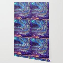 Iridescent Fantasy Abstract Wallpaper