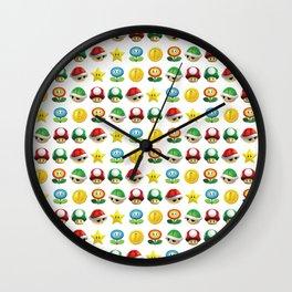 POWER UPS Wall Clock