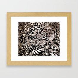 Its All Happening Framed Art Print