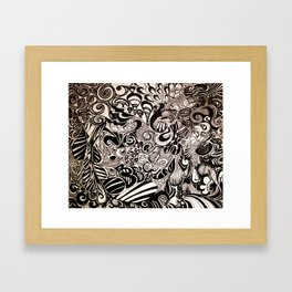 Its All Happening Framed Art Print