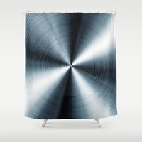 cycle Shower Curtains featuring Cycle  by Daniac Design