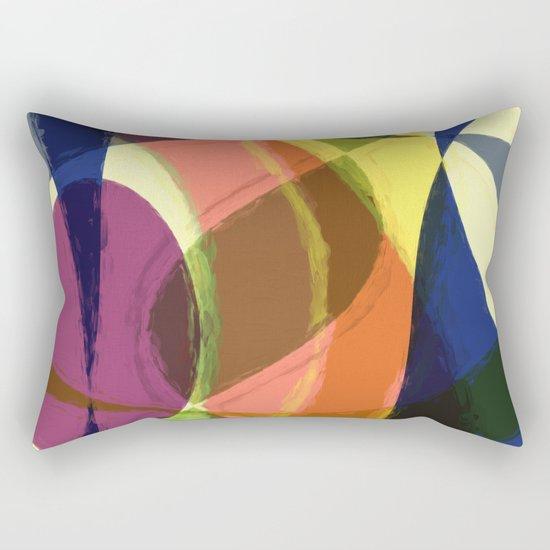 Abstract #465 Rectangular Pillow