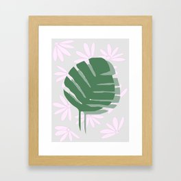 flora II Framed Art Print