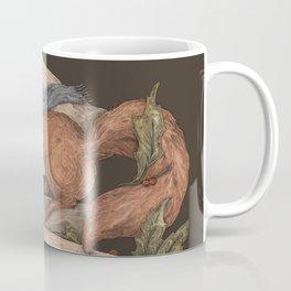 Red Squirrel Season's Greetings Coffee Mug