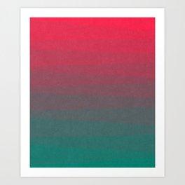 Shades of Sunset Art Print