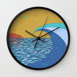 Sunset VIII Wall Clock