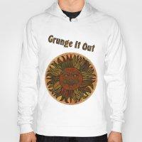 grunge Hoodies featuring Grunge by BohemianBound
