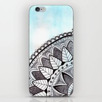 zentangle iPhone & iPod Skins featuring Zentangle by Nathanee.