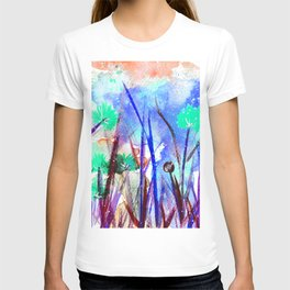 Flower Field Mint Blossom T-shirt