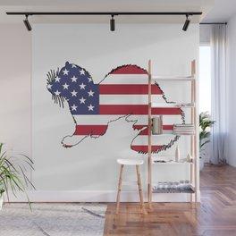 "Ferret ""American Flag"" Wall Mural"