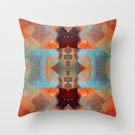 The Devil in the Details Throw Pillow