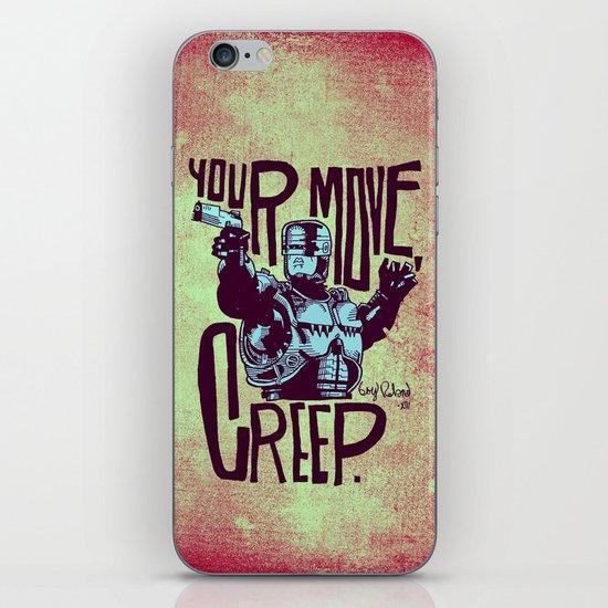 Your move, creep. // ROBOCOP iPhone & iPod Skin