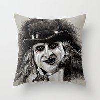 pen Throw Pillows featuring Pen by chadizms
