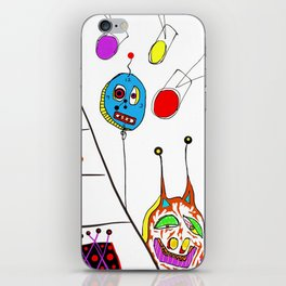 just some friends of mine iPhone Skin