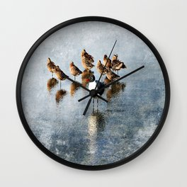 Vive La Difference Wall Clock