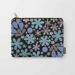 Retro. Floral motifs 3 Carry-All Pouch