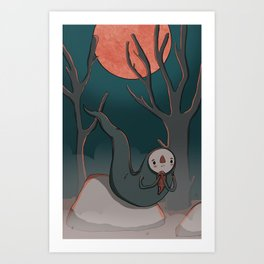 Broody Art Print