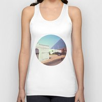 memphis Tank Tops featuring Memphis by lizzy gray kitchens