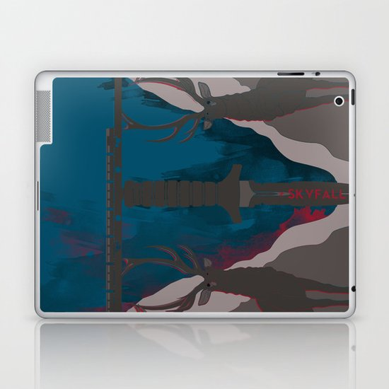 Skyfall Movie Poster Laptop & iPad Skin